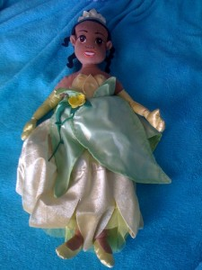 Princess Tiana to the rescue.