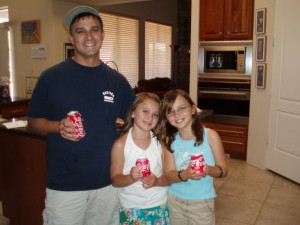 10th birthdays (first Cokes!); 41st birthday.